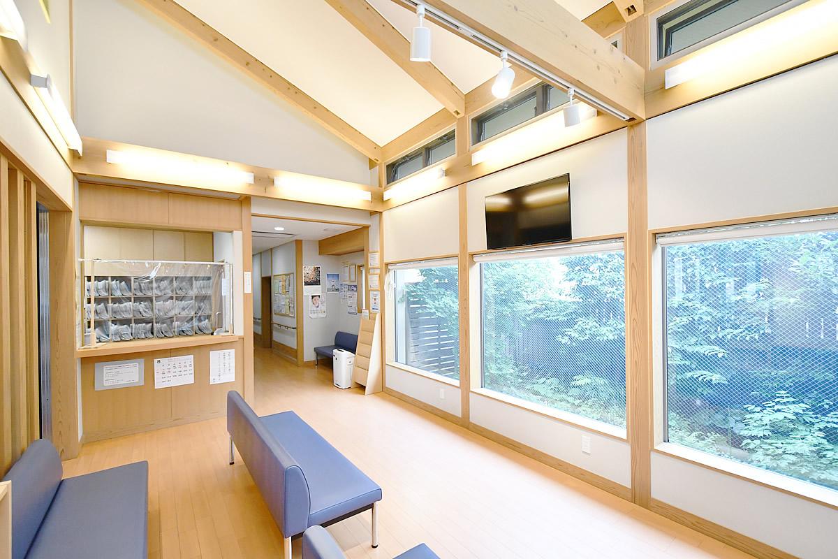 福田医院待合室