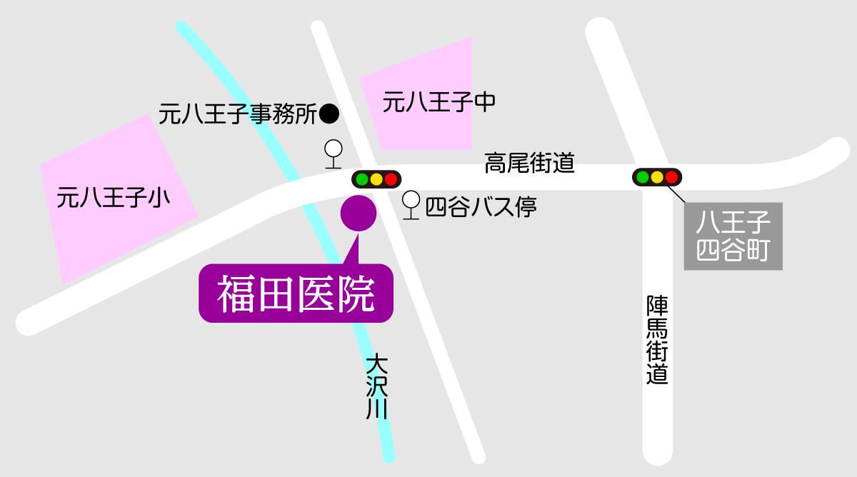 福田医院マップ